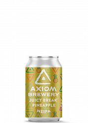 Axiom Brewery Pivo Juicy Break 16 ° P, Ananás NEIPA 330 ml