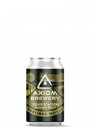 Axiom Brewery Pivo Sour Station 10 ° P, Berliner Weissa Pasionfruit 330 ml