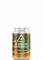Axiom Brewery Pivo Sunset Sari 14 ° P, Mango IPA 330 ml