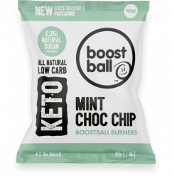 Boost ball Keto Mint choc chip 40 g
