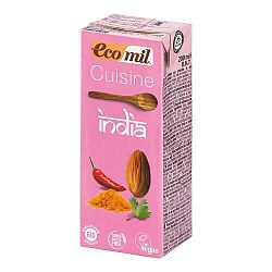Ecomil Mandľová alternatíva smotany India BIO 200 ml