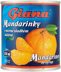 Giana Mandarínka 314 ml
