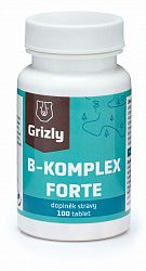 GRIZLY B-komplex Forte 100 tabliet