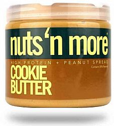 Nuts & more More Arašidové maslo Cookie Butter s proteínom 454 g