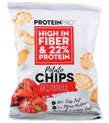 ProteinPro chips BBQ / paprika 50 g