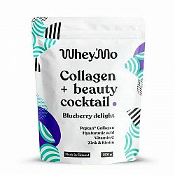 Whey'mo Collagen + beauty coctail 250 g Blueberry delight